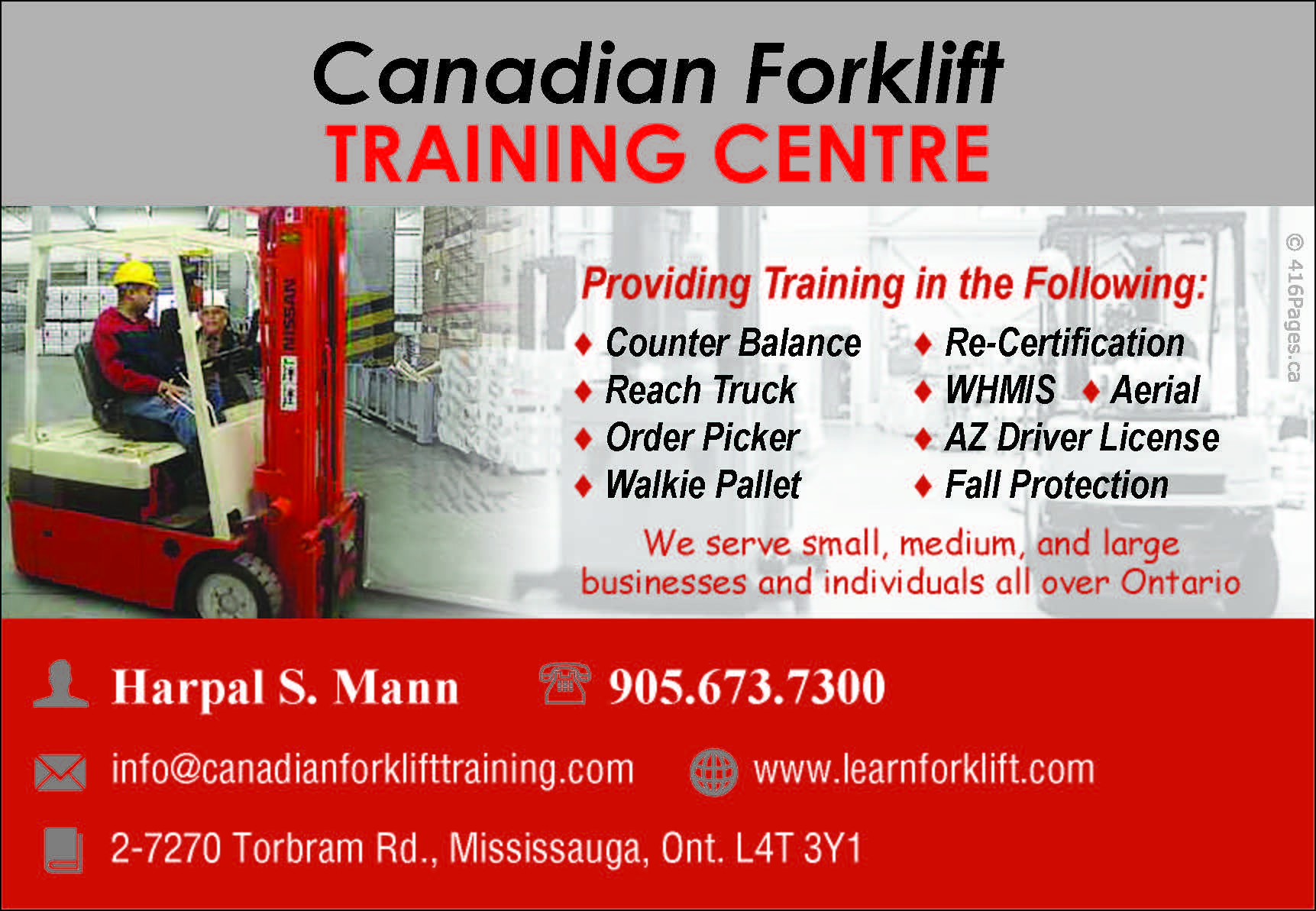 Canadian forklift training centre 416 pages canadian forklift training centre 1betcityfo Choice Image