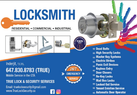 True Lock & Security Services (Locksmith) - 416 pages